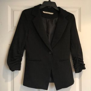 Black blazer, women's
